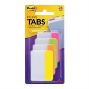 Banderitas 3M 686-PLOY Adhesivas Rígidas Post-It Colores Neón 2x1.5in 24 Banderitas Caja con 6 Paquetes