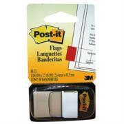 Banderitas 3M 680 Post It Blanco 12 Piezas c/50 Hojas c/u