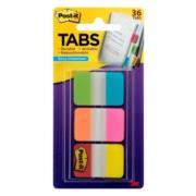Banderitas 3M Adhesivas Rígidas Colores Brillantes 2.5x3.8cm C/36 Tabs