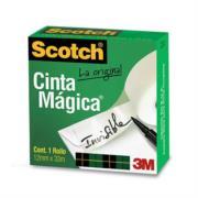 CINTA 3M MAGICA ADHESIVA 810 .12X33 MTS