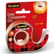 Cinta Scotch 3M 550 0.19x30m con Despachador