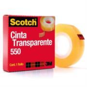Cinta Scotch 3M 550 19x33 Transparente Adhesiva