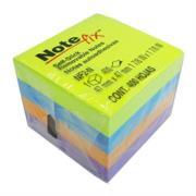 Cubo Notas 3M Adhesivas Note Fix Neon 0.05m c/400 Hojas