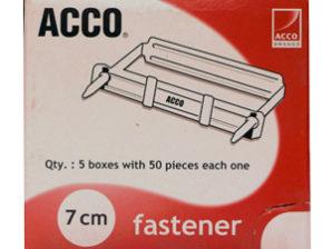 BROCHE ACCO No.7 CMS P1570 C/50 BROCHES