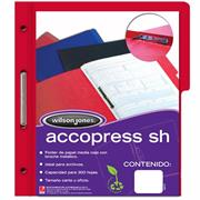CARPETA ACCO PRESS MC P4557 CARTA ROJO C/10