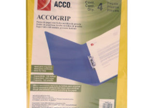 CARPETA ACCO GRIP T3 SH-964 CARTA AMARILLO C/4