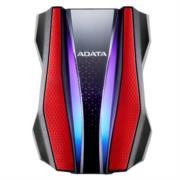Disco duro Adata HD770G Externo 2 TB RGB USB 3.2 Color Rojo