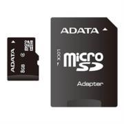 MEMORIA MICRO SD ADATA CLASE 4 8GB + ADAPATDOR SD