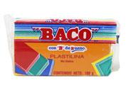 PLASTILINA BACO MARQUETA 180GR NARANJA No.52