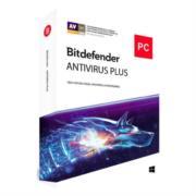 Licencia Antivirus Bitdefender Plus 1 Año 3 Usuarios Caja