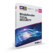 Licencia Antivirus Bitdefender ESD Total Security MD 1 Año 5 Usuarios