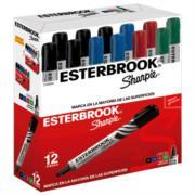 Marcador Esterbrook Colores Surtidos C/12 Pzas