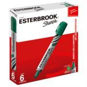 Marcador Esterbrook Color Verde C/6 Pzas