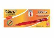 BOLIGRAFO BIC BU3 GRIP RETRACTIL ROJO C/12