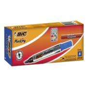 MARCADOR BIC 2300 PERMANENTE PLASTICO AZUL C/6