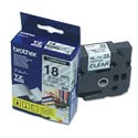 CINTA BROTHER TZ-141 NEGRO/TRANSPARENTE 18MM PT300/310B/330