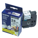 CINTA BROTHER TZ-251 NEGRO/BLANCO 24MM PT330/530