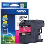 Tinta Brother LC505M Magenta Super Alto Rendimiento
