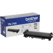 Toner Brother TN760 Alto Rendimiento Color Negro