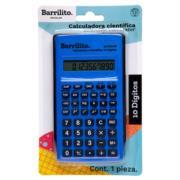 Calculadora Científica Barrilito 10 Digitos 1 Pza