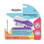 Mini Engrapadora Barrilito Estándar C/Grapas Blister