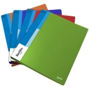 Folder Barrilito Plástico Oficio Broche Metálico Presión C/6 Pzas
