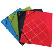 Folder Barrilito Plástico Oficio con Ligas C/12 Pzas