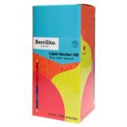 Lápiz Bicolor Barrilito HB Hexagonal Caja C/100 Pzas