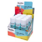 Lápiz Adhesivo Barrilito 36 g Caja C/12 Pzas