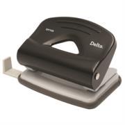 Perforadora Barrilito Delta 2 Orificios Color Negro