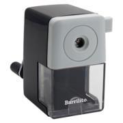 Sacapuntas Semiautomático Barrilito 856 Manual Color Negro