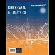 BLOCK ESTRELLA CARTA MILIMETRICO 50 HJS