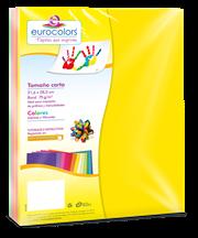 PAPEL CORTADO EUROCOLORS CARTA ARCOIRIS NEON C/100