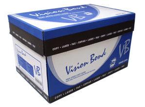 PAPEL COPIADORA VISION BOND 75GR OFICIO BCO C/5000