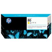 Cabezal de Impresión HP DesignJet 80 Color Amarillo