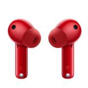 Audífonos Huawei FreeBuds 4i Inalámbricos Carga Rápida Cancelación de Ruido Color Rojo