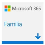 Licencia Microsoft 365 Familia 32/64 Bits 1 Año 6 Usuarios Español