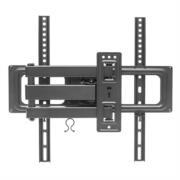 Soporte Manhattan TV 32' a 55' 35 Kg Pared Movimiento Articulado Curvas/Planas Color Negro