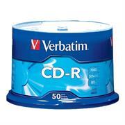 DISCO COMPACTO VERBATIM R 52X 80MIN 700MB C/50
