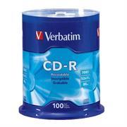 DISCO COMPACTO VERBATIM R 52X 80MIN 700MB C/100