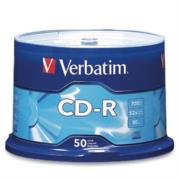 Disco Compacto Verbatim Bulk CD-R 52x Color Wrap Lar