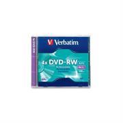 DVD-RW VERBATIM 4.7GB DL+4X SINGLE J/C