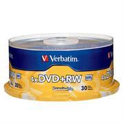 DVD+RW VERBATIM 4.7GB 4X C/30