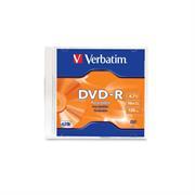 DVD-R VERBATIM 4.7GB 16X SINGLE SLIM CASE