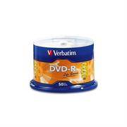 DVD-R VERBATIM 4.7GB 16X SPINDLE C/50