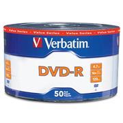 DVD-R VERBATIM 4.7GB 16x C/50