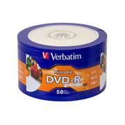 DVD-R IMPRIMIBLE VERBATIM 16x4.7GB SUPERFICIE BCA C/50PZA