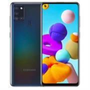Smartphone Samsung Galaxy A21s 6.5' 64GB/4GB Cámara 48MP+8MP+2MP+2MP/13MP Octacore Android 10 Color Negro