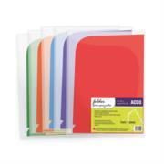 Folder Acco Plástico Bitono c/6 Piezas Colores