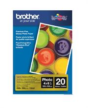 PAPEL BROTHER FOTOGRAFICO 4' X 6' 20 HOJAS